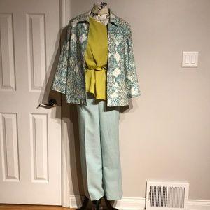 Set Cover Blazer Casual Dres Pants Suit Work Party